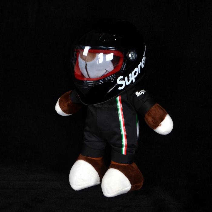 Игрушка с мотошлемом Supreme черный