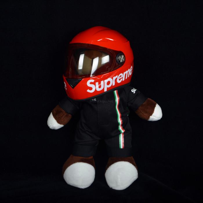 Игрушка с мотошлемом Supreme красный