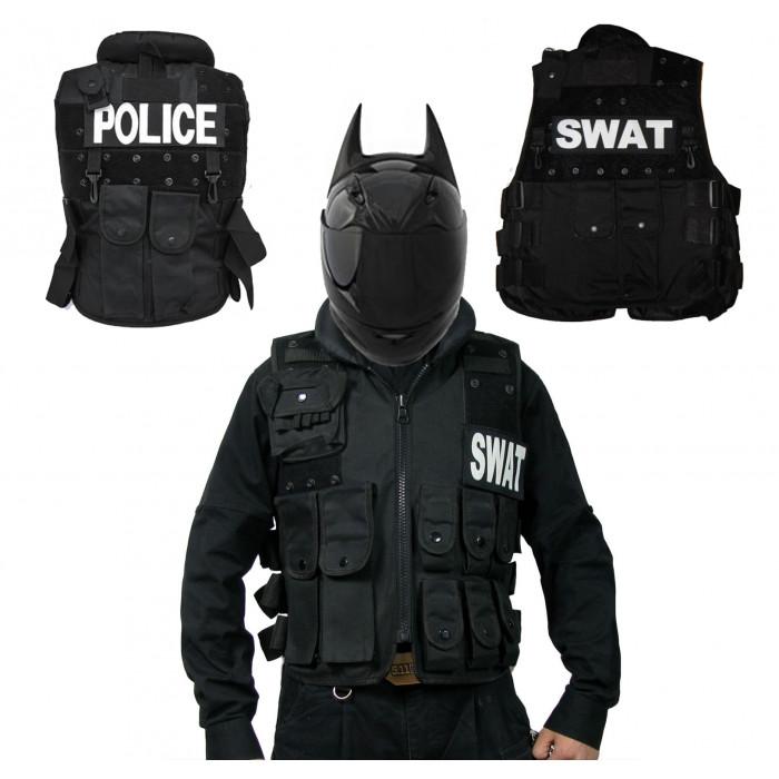 Жилет мото SWAT (POLICE)
