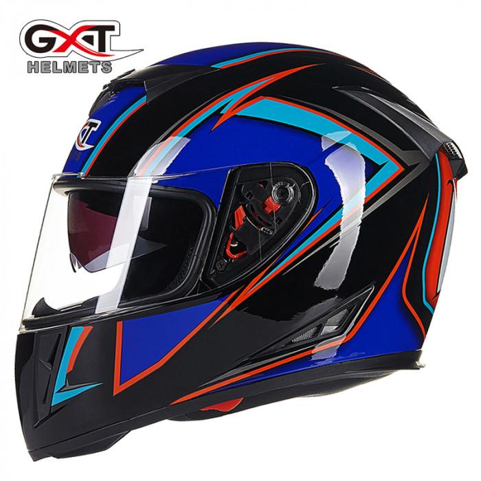 Шлем интеграл GXT 358 синий