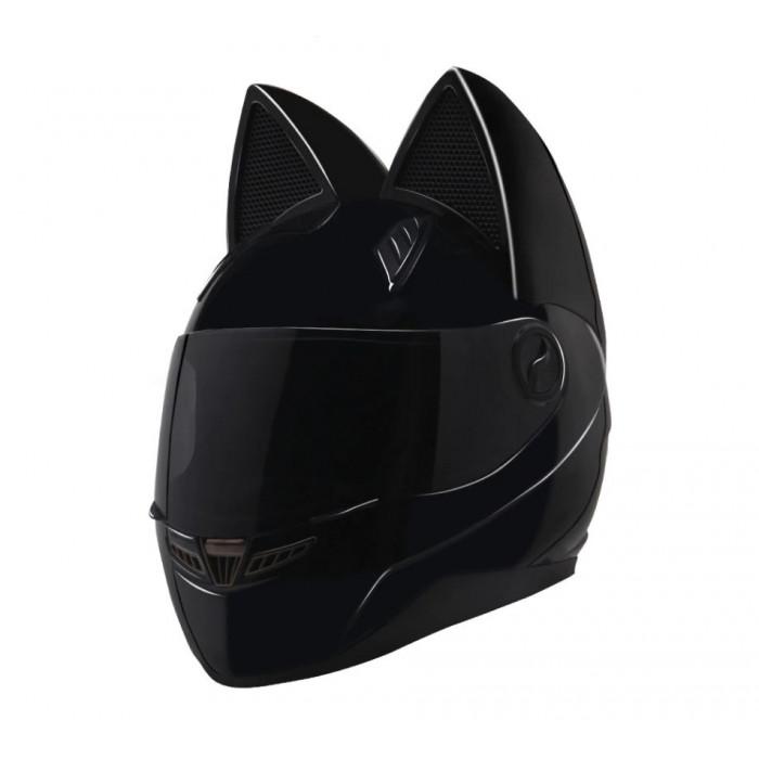 Шлем с ушками Nitrinos Neko черный